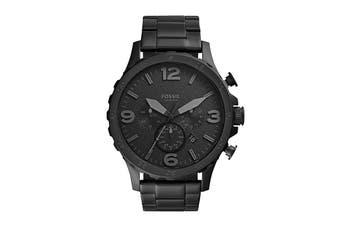 Fossil Nate Chronograph Watch - Black (JR1401)