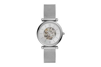 Fossil Carlie Analogue Watch - Silver (ME3176)