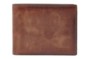 Fossil Derrick RFID Flip Wallet - Brown (ML3681200)