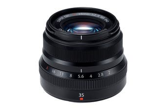 Fuji X Lens XF35mm F2 R Weather Resistant Lens - Black