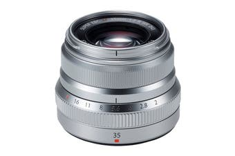 Fuji X Lens XF35mm F2 R Weather Resistant Lens - Silver