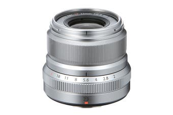 Fuji X Lens XF23mm F2 R Weather Resistant Lens - Silver