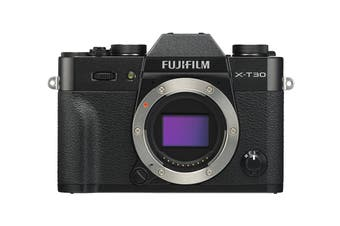 Fujifilm X-T30 Mirrorless Camera - Black (Body Only)