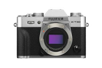 Fujifilm X-T30 Mirrorless Camera - Silver (Body Only)