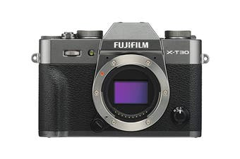 Fujifilm X-T30 Mirrorless Camera - Charcoal Silver (Body Only)