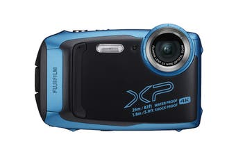 Fujifilm FinePix XP140 Action Camera - Sky Blue