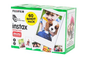 Fujifilm Instax Mini Film - 60 Sheets