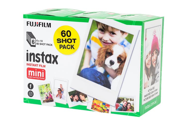 Fujifilm Instax Mini Film - 60 Sheets