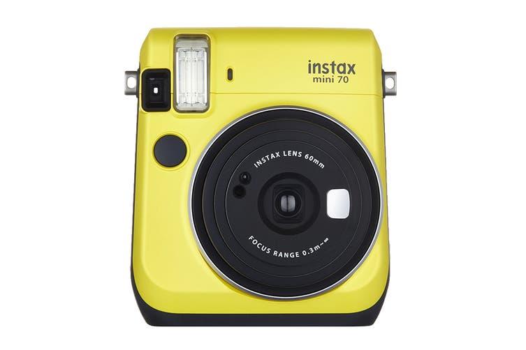 Fujifilm Instax Mini 70 Instant Camera (Canary Yellow)