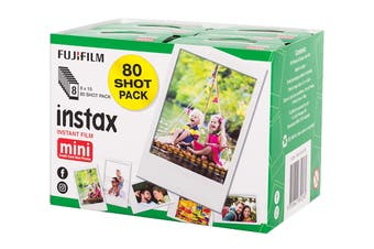 Fujifilm Instax Mini Film - 80 Sheets