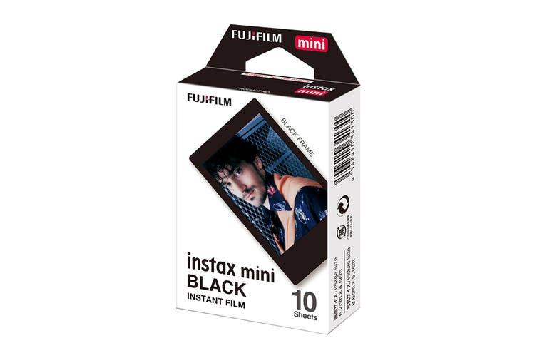Fujifilm Instax Mini Film Black - 10 Sheets