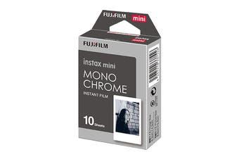 Fujifilm Instax Mini Film Monochrome - 10 Sheets