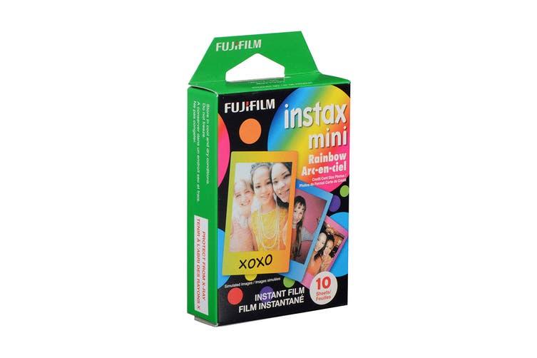 Fujifilm Instax Mini Rainbow Film - 10 Sheets