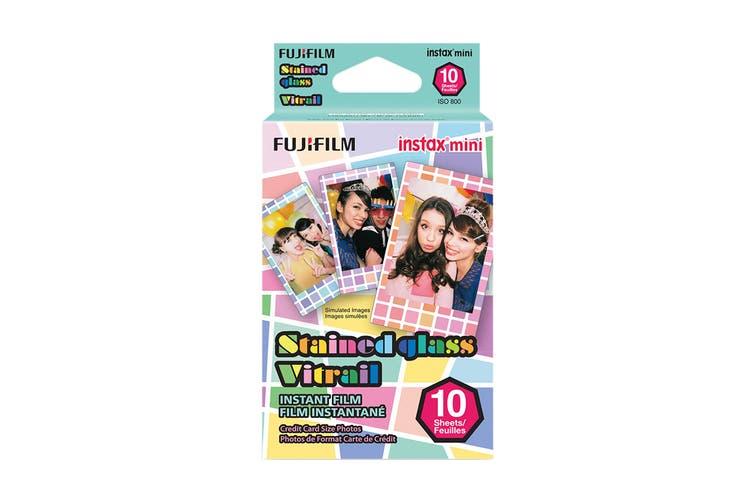 Fujifilm Instax Mini Stained Glass Film - 10 Sheets