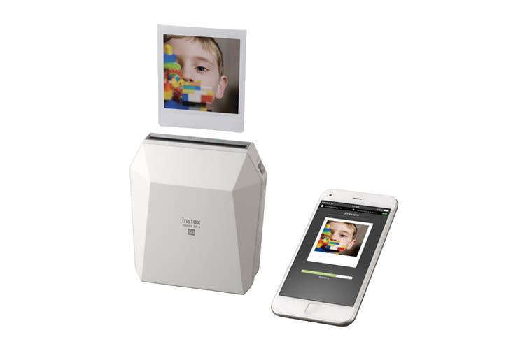 Fujifilm Instax Share SP-3 Smartphone Photo Printer (White)