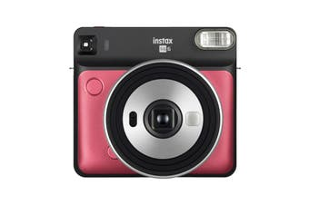 Fujifilm Instax SQUARE SQ6 Instant Camera (Ruby Red)