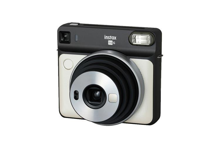 Fujifilm Instax SQUARE SQ6 Instant Camera (Pearl White)