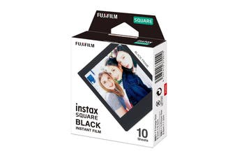 Fujifilm Instax Square Film Black - 10 Sheets