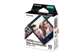 Fujifilm Instax Square Film Star-illimunation - 10 Sheets