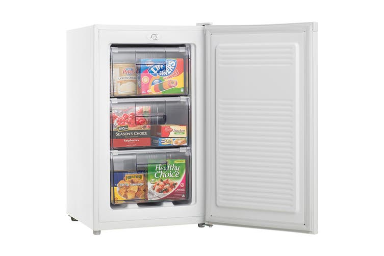 Heller 80L Upright Freezer with Drawers (HF80)