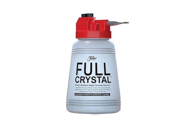 Full Crystal Garden Hose Spray Window Cleaner