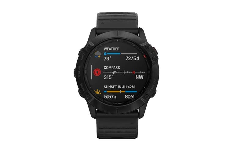 Garmin Fenix 6X Pro Sports (Black)
