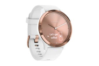 Garmin Vivomove HR Sport (Rose Gold, S/M)