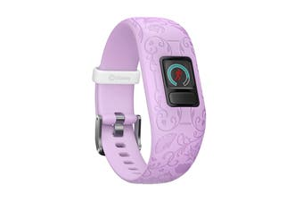 Garmin Vivofit jr. 2 Fitness Tracker (Disney Princess - Purple)