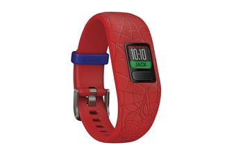 Garmin Vivofit Jr2, Adjustable (Spider-Man, Red)
