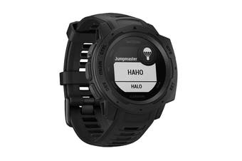Garmin Instinct - 45mm (Tactical, Black)