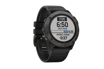 Garmin Fenix 6X Pro Solar - 51mm (Titanium, Carbon Gray DLC with Black Band)