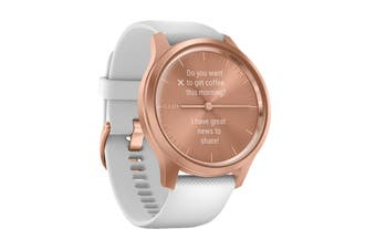 Garmin Vivomove Style - 42mm (Rose Gold-White/Silicone)