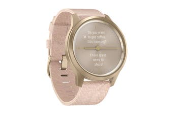 Garmin Vivomove Style - 42mm (Champagne-Dust Rose/Fabric)