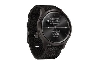 Garmin Vivomove Style - 42mm (Gunmetal-Dark Gray/Fabric)