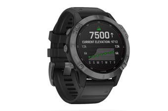 Garmin Fenix 6 Pro Solar (Slate Grey with Black Band)