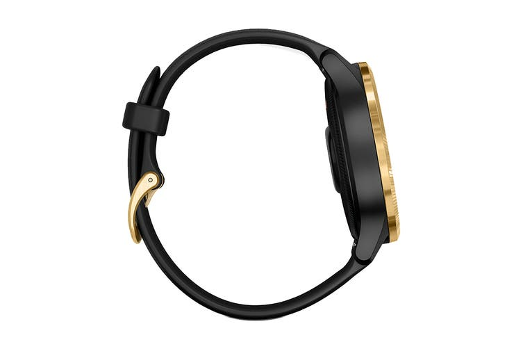 Garmin Venu (Black with Gold Hardware)