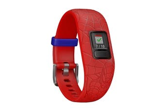 Garmin Vivofit Jr. 2 (Adjustable, Marvel Spiderman Red)