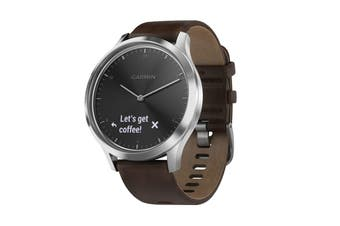 Garmin Vivomove HR Premium (Black and Silver)