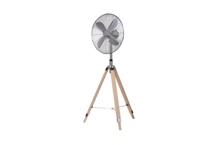Goldair 45cm Wooden Tripod Fan (GCHV450W)