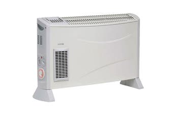 Goldair 2000W Convector Heater with Fan, Timer & 3 Heat Settings (GCV330)
