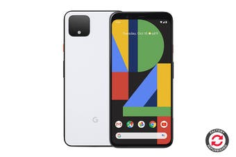 Google Pixel 4 Refurbished (64GB, Clearly White) - A Grade