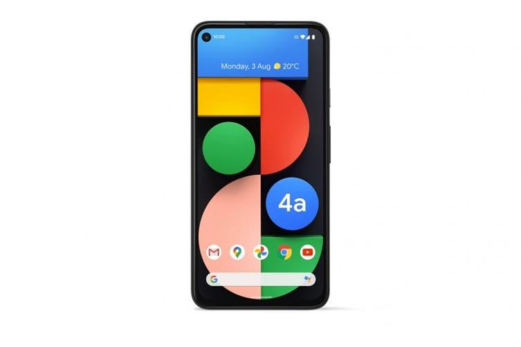 Google Pixel 4a 5G (128GB, Just Black) - AU/NZ Model