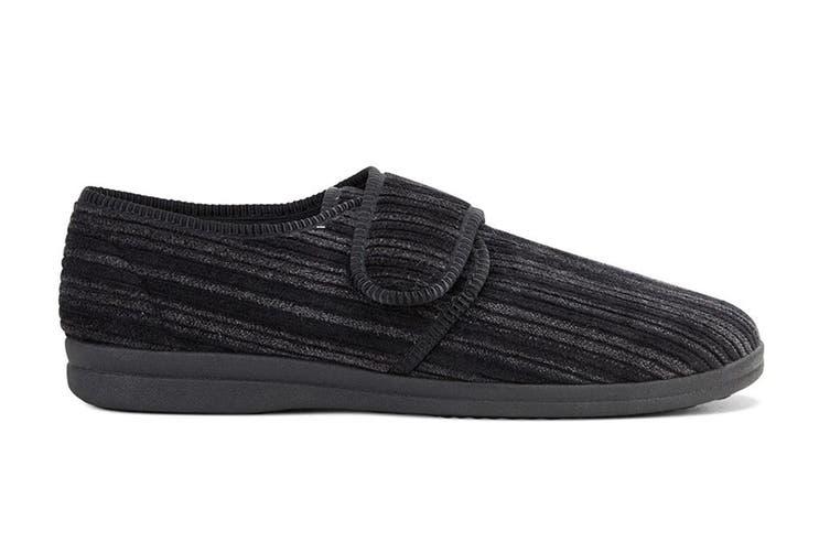 Grosby Men's Thurston Slippers (Black, Size 10 UK)