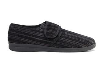 Grosby Men's Thurston Slippers (Black, Size 9 UK)