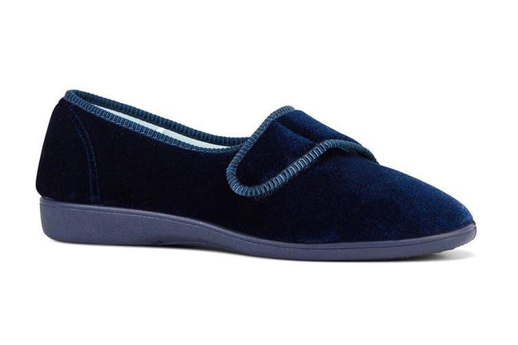 Grosby Women's Lilian Slippers (Deep Navy, Size 6 US)