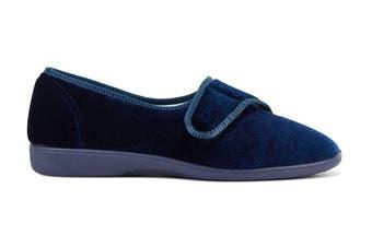 Grosby Women's Lilian Slippers (Deep Navy, Size 7 US)