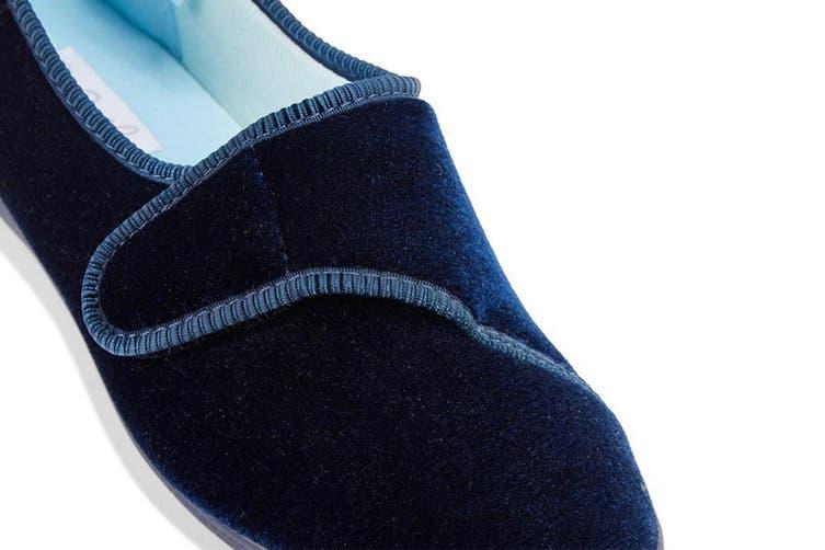Grosby Women's Lilian Slippers (Deep Navy, Size 8 US)