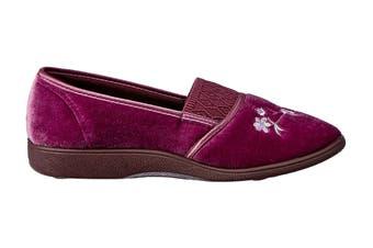 Grosby Women's Sasha Slippers (Heather, Size 10 US)
