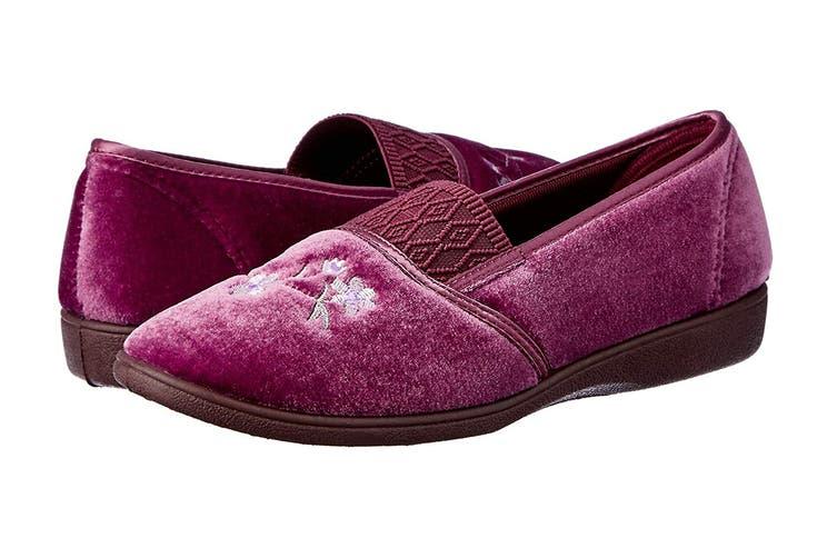 Grosby Women's Sasha Slippers (Heather, Size 9 US)