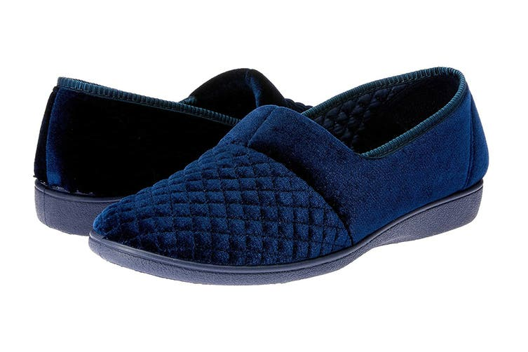 Grosby Women's Marcy 2 Slippers (Deep Navy, Size 10 US)